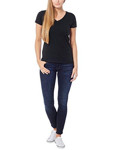 Berydale Camicia donna a maniche lunghe con scollo a V confezione da 3 in diversi colori