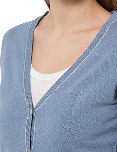 Berydale Cardigan da donna in delicati colori estivi giacca in maglia con lista a bottoni